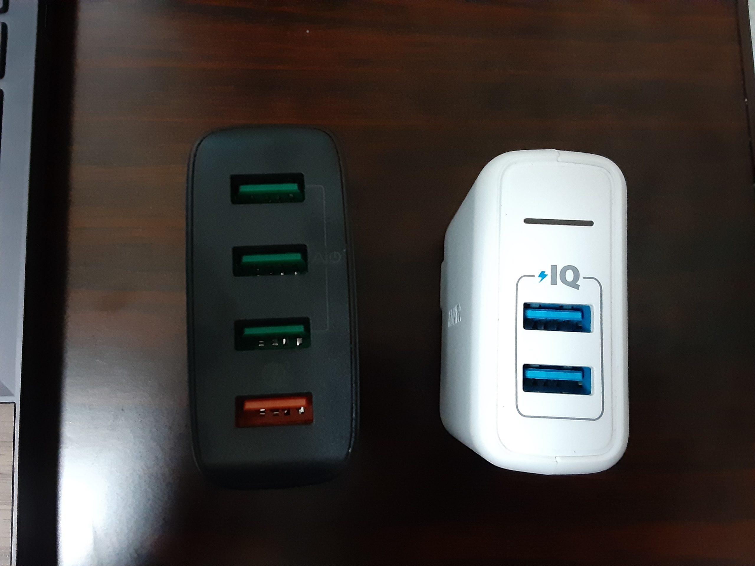 USBポート比較